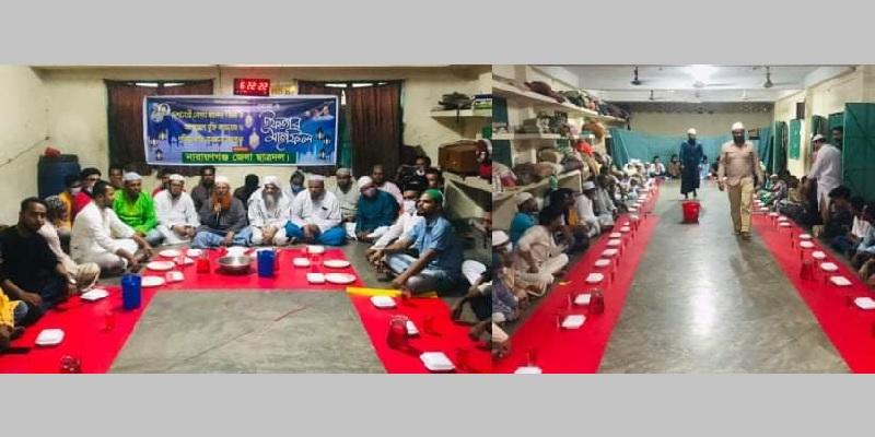 খালেদা জিয়ার সুস্থতা কামনায় ফতুল্লায় ছাত্রদলের দোয়া ও মিলাদ মাহফিল